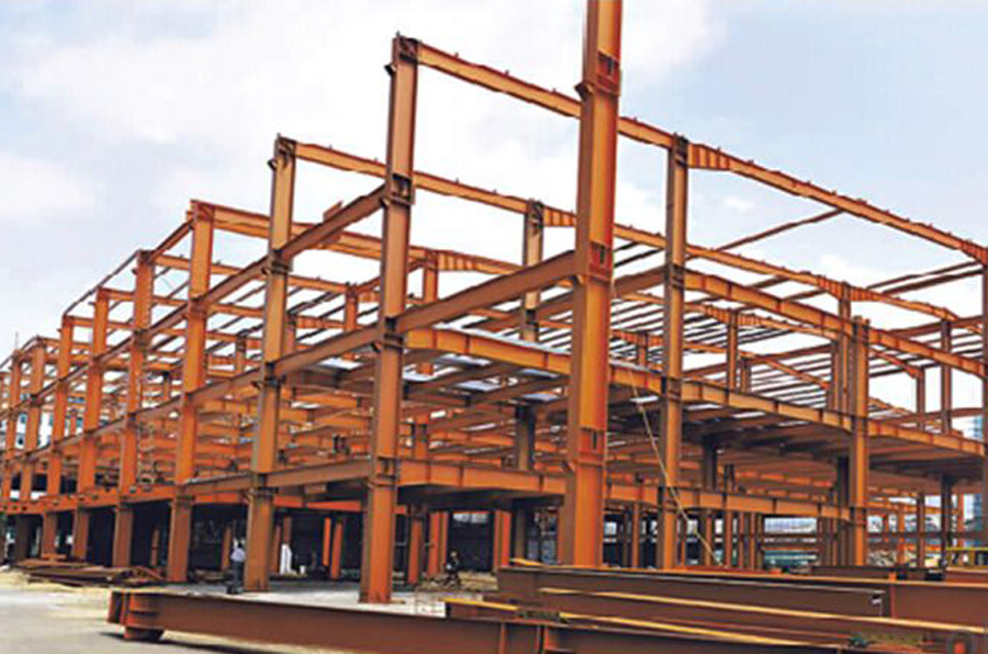 HEAVY STEEL STRUCTURE BUILDING AND PROJECT --BT- 002