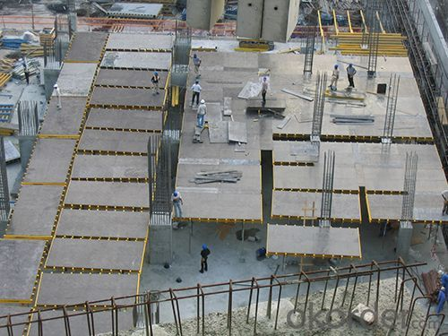 Water-Proof Formwork System With Adjustable Prop