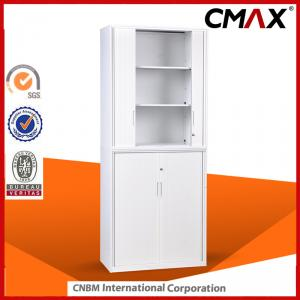 Steel Tambour Door Cupboard Full Height 1850mm Office Furniture