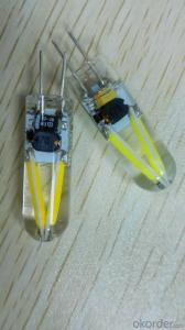 LED FILAMENT G4 LAMP PLASTIC TYPE A 1.5W 12V 24V 36V AC DC