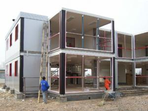 Container House Safe and Durable Made in China