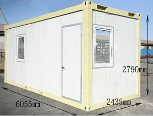 20ft Standard Prefab Flat-Packed Container House