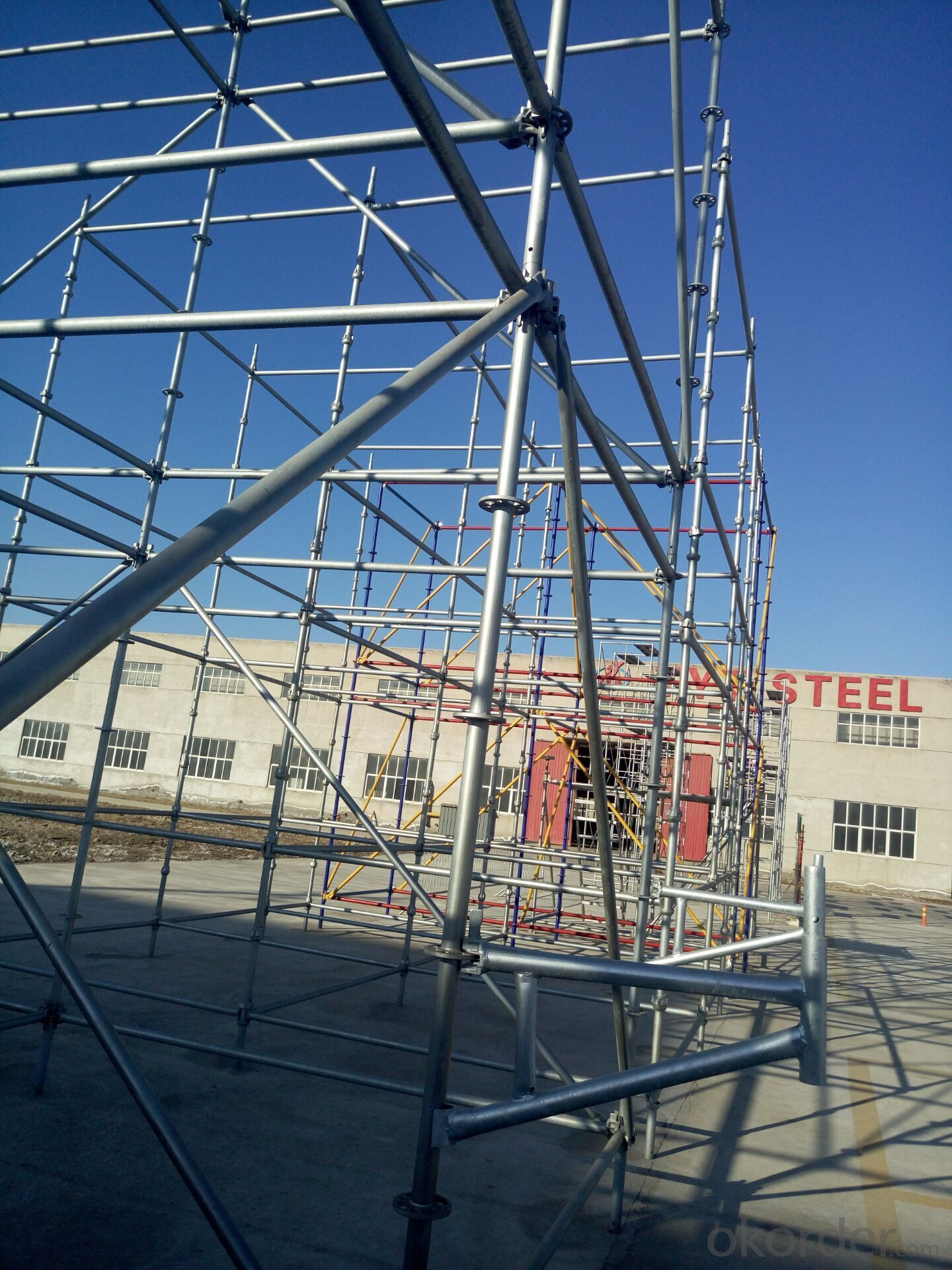 Steel Ringlock Scaffolding in China Market
