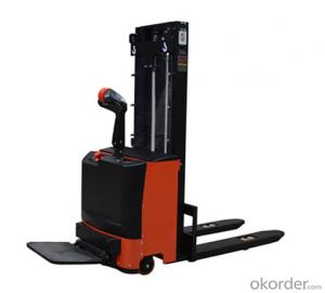Hand Stacker SFH10-W 1.x M with forklift
