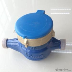 multi-jet wet type vane wheel cold water meter