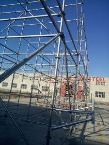 Steel Ringlock Scaffolding in China Markets