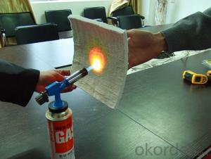 High Performance Fireproof Aerogel Insulation Blanket