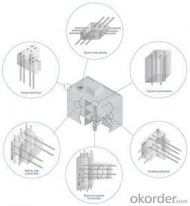 Steel Coupler Rebar Steel Made in Jiangsu China under Good Price