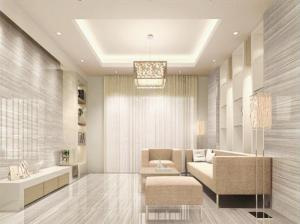 Polished Porcelain Tile Wooden Line Stone  Serie CMAXWL004