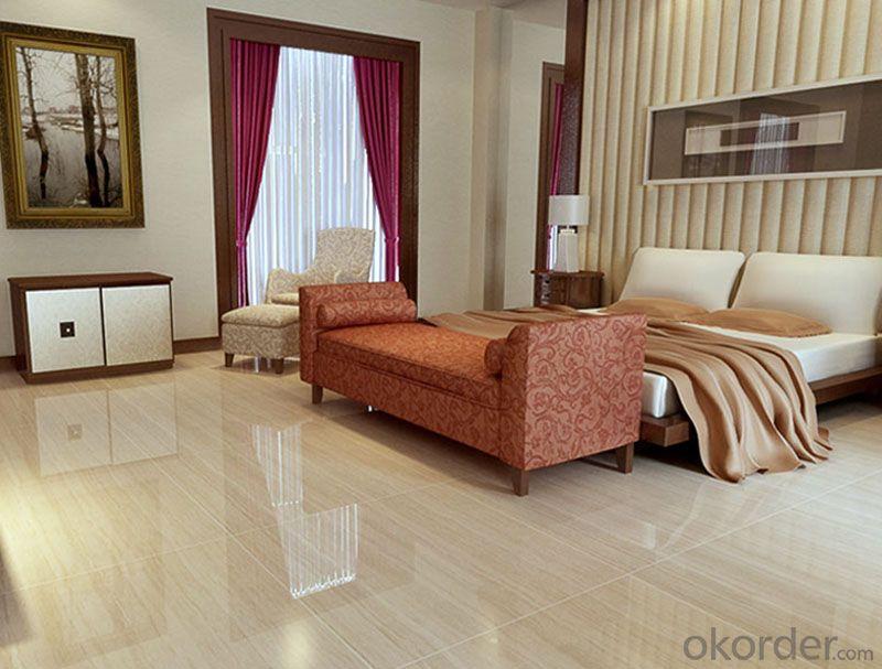 Polished Porcelain Tile Wooden Line Stone  Serie CMAXWL002