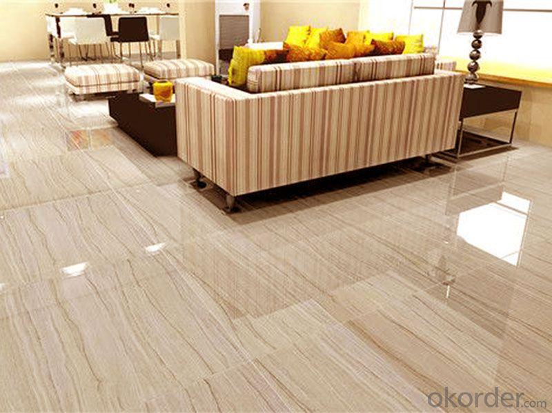 Full Polished Glazed Porcelain Tile Series  600 MWH001