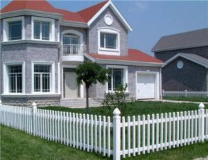 Plastic Picket Fence for Small Garden Fence