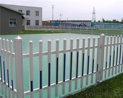 White Plastic Vinyl PVC Picket Fence for Garden