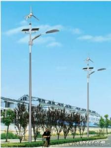 Wind and solar hybrid street lamp system High quality complementary led solar street lights