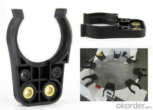 DIN30 Black ISO 30 Plastic Tool Holder Forks for ATC HSD Spindle
