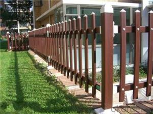 PVC Fence for Swimming Pool and Protect River