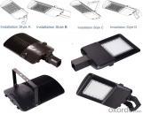 listed 8 Years Warranty 50W Solar Powered LED Streetlights 120W-240W
