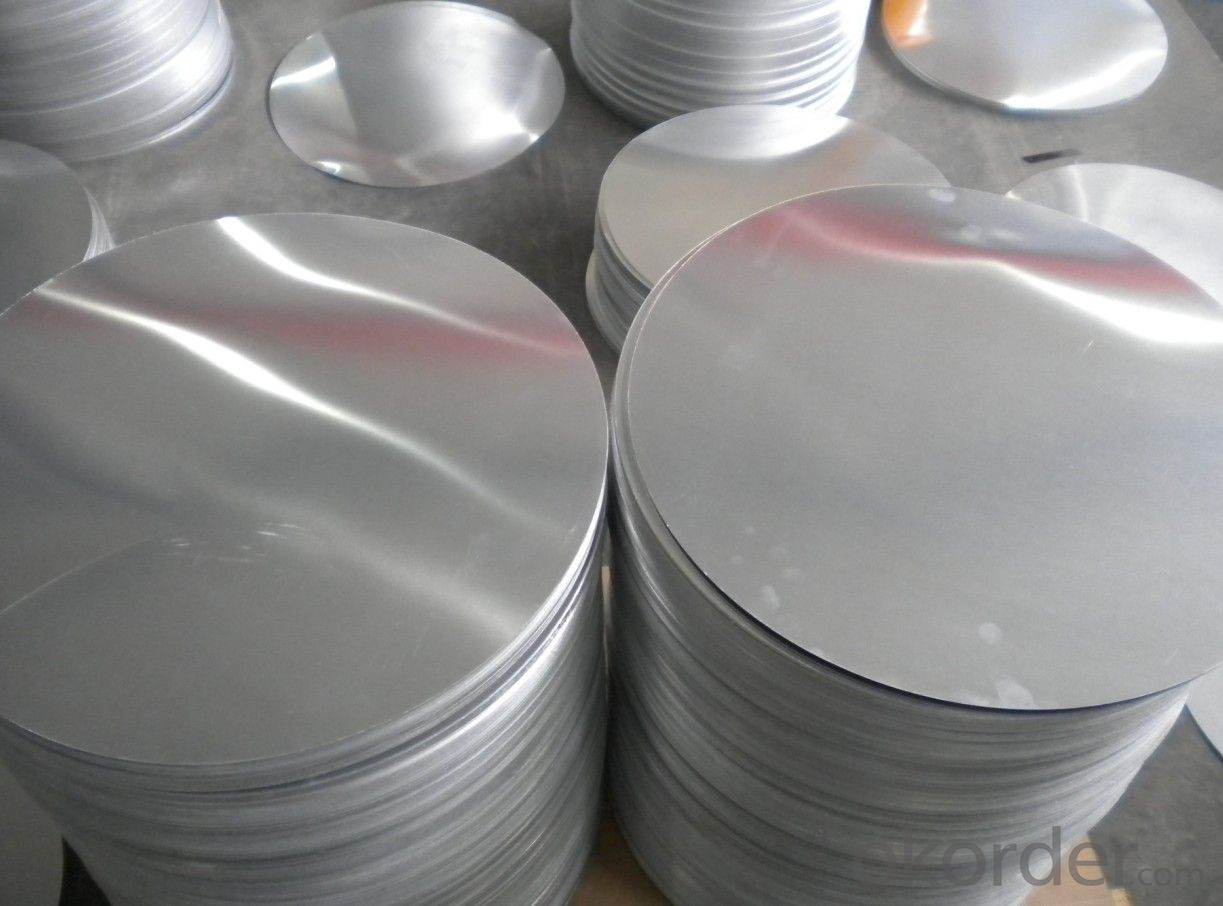 Metal Circle Sheet Aluminum Sheet Punching Disc DC CC Technology For Press Cookware