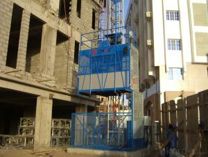 SINGLE CAGE CONSTRUCTION LIFT ELEVATOR HOIST MODEL SC200