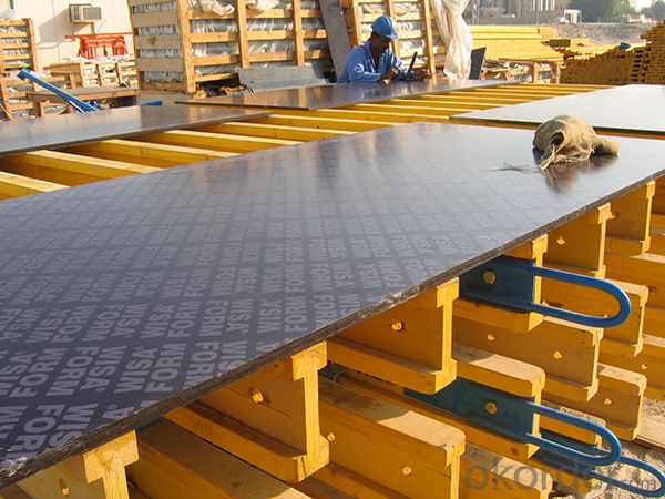 Buy Flexible Plywood For Concrete Wall Formwork with High Quality