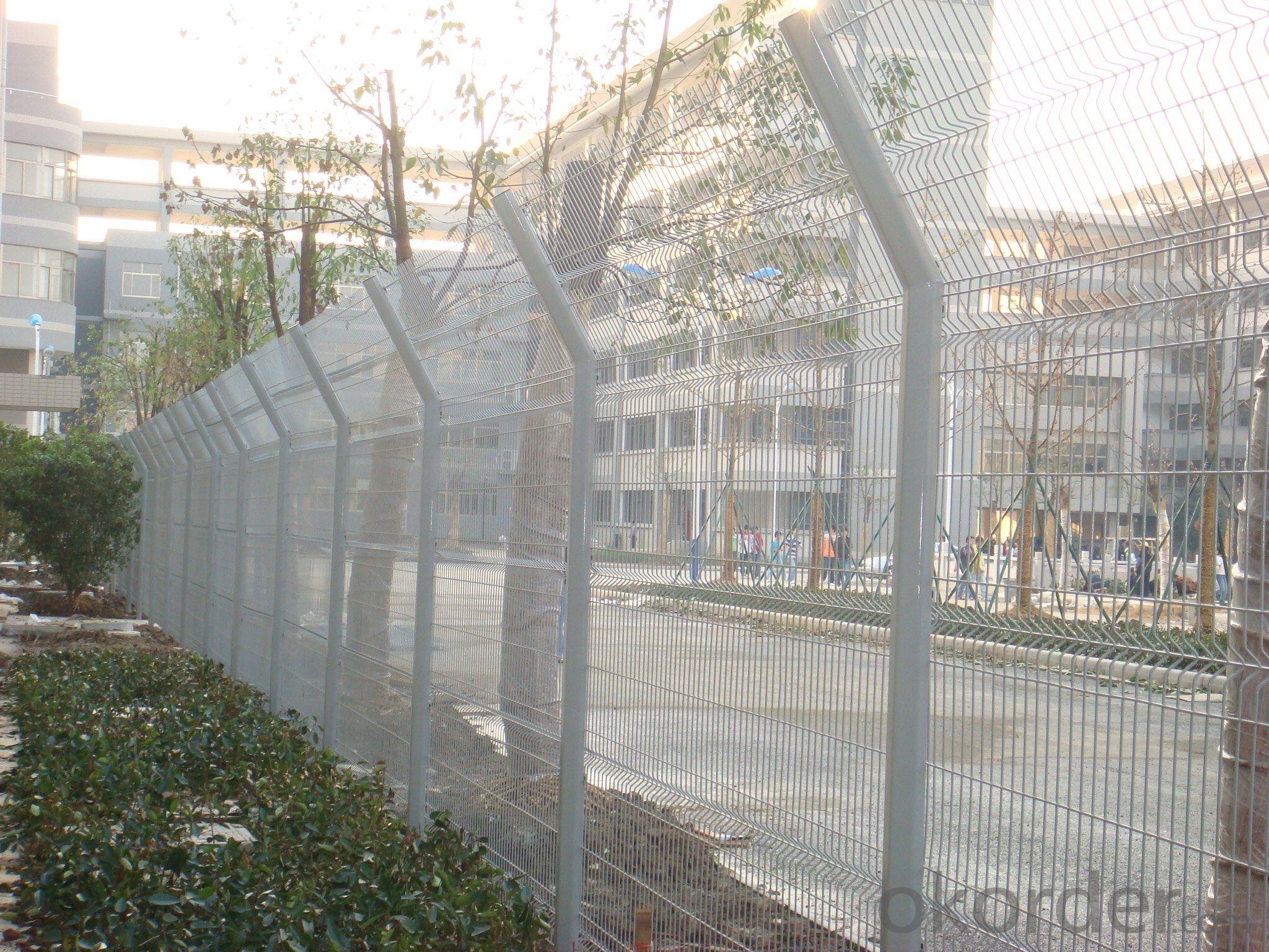 White Plastic Fence Morden Style for Garden