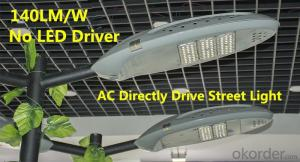 LED Street light  high Luminous Efficiency no driver AC Directly drive
