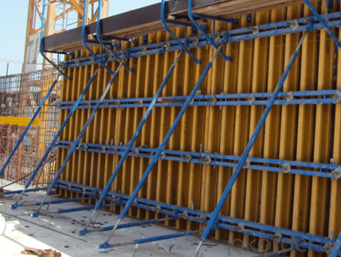 Timber Beam Wall Formwork for Building construction