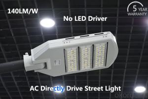 High Power Led Street Light  high Luminous Efficiency