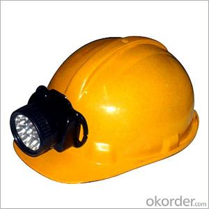 Led Headlamp Rechargeable Coal Mining Lamp with Two Batteries