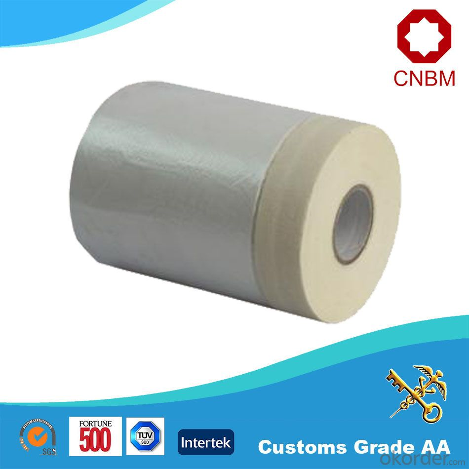 Masking Film 550mm*30m HDPE Film Made in China