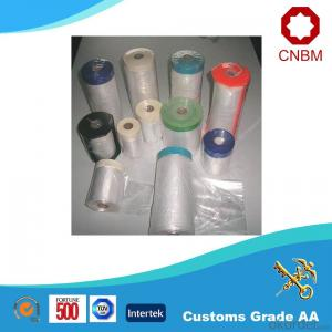Masking Film Most Popular Colorful Logo Paintable