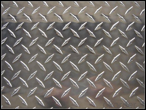 Diamond Aluminium Tread Plates 1xxx 3xxx 5xxx Series for Boat Toolbox