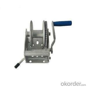 Mini Hand Winch 1500 lbs Manual Small Winch