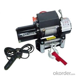 4500LBS 12V 24V DC Self Recovery Electric Winch with Steel Cable
