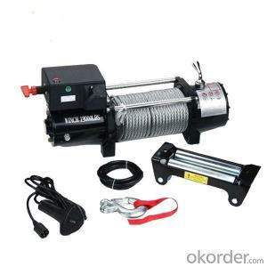 9000LBS 12V 24V DC Self Recovery Electric Winch