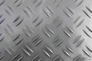 Mill Finish Five Bar Aluminium Tread Plates 5052 HO for Boat