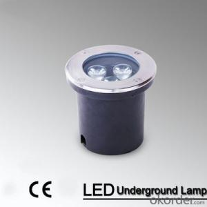 high power led 3W buried garden led underground light