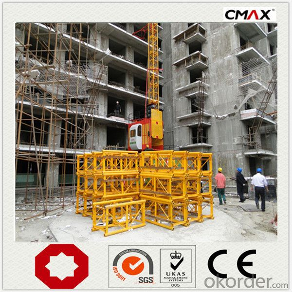 Buidling Construction Hoist Single Cage SC120