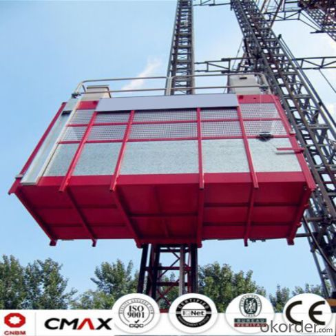 Building Hoist  European Standard With 4ton Electric Parts