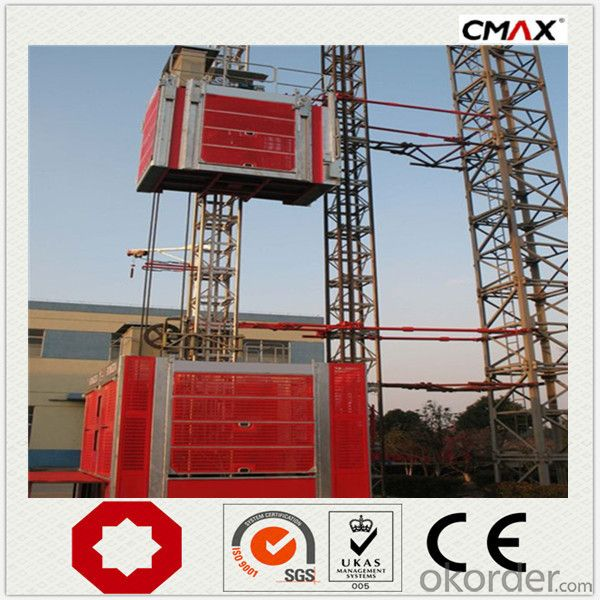 Buidling Construction Hoist SC120 without Counterweight