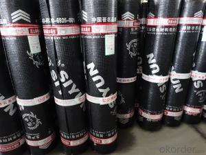 sbs app modified bitumen waterproof membrane