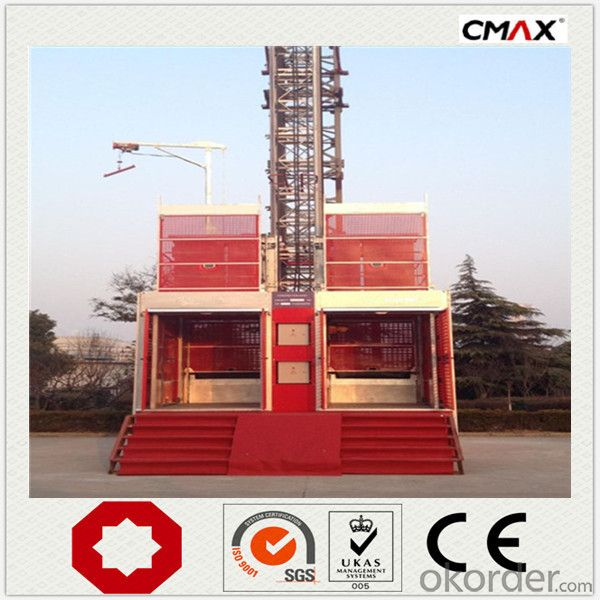Construction Hoist Single Cage SC250 Schneider Electronic