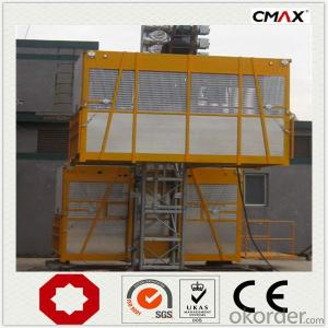 Buidling Construction Hoist SC160 Single Cage