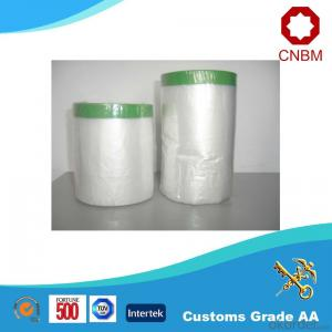 Plastic Film For Masking In Auto Industry