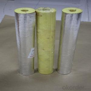 Glasswool and Rockwool Aluminum Foil FSK insulation facing