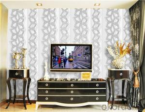 PVC Wallpaper CNBM Popular Design Commercial Vinyl Wallpaper in Shanghai