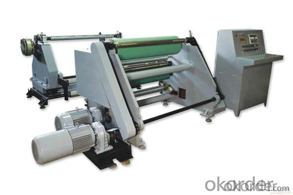 Paper Roll Slitting and Rewinding Machine with Good Quality