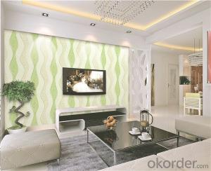 PVC Wallpaper CNBM Colorful Big Follower Restaurant Living Room Bedroom Decoration