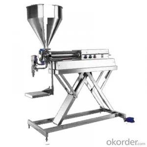 Hand Control Filling Machine for Cream Packing