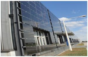 Photo-Electric Curtain Wall for High-rising Building